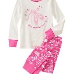 Gymboree Gymmies Girls Pajamas Sz 18-24 months new